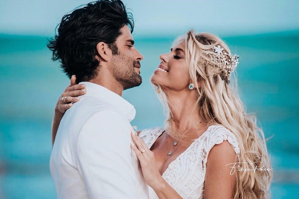 Jorge Sestini será indiciado pela morte da esposa Caroline Bittencourt — Foto: Reprodução/Instagram