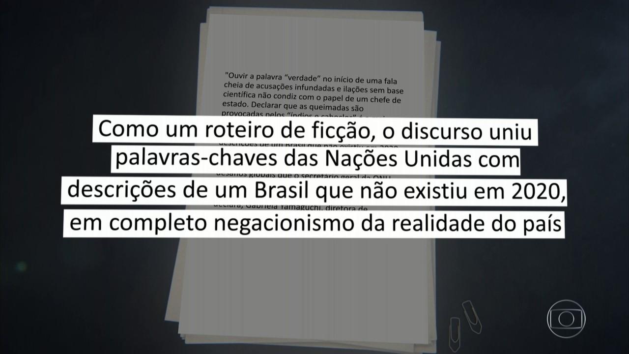 Discurso de Bolsonaro na ONU provoca reações entre políticos e entidades de meio ambiente
