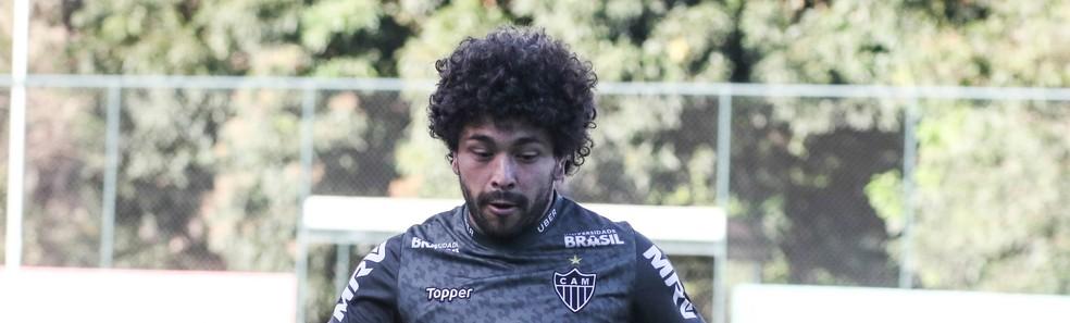 Luan voltou a ter a intensidade que marca o seu jogo — Foto: Bruno Cantini/ Atlético-MG