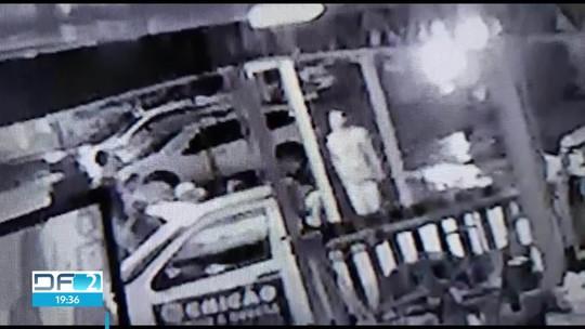 Polícia divulga imagens de assassinato em Sobradinho