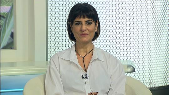 Fernanda Abreu é entrevistada no Jornal Anhanguera 1ª Edição