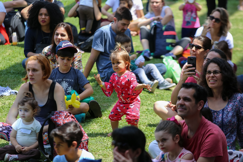 As crianças se divertiram junto dos pais durante o Festival CRESCER (Foto: Alexandre Di Paula/ Editora Globo)