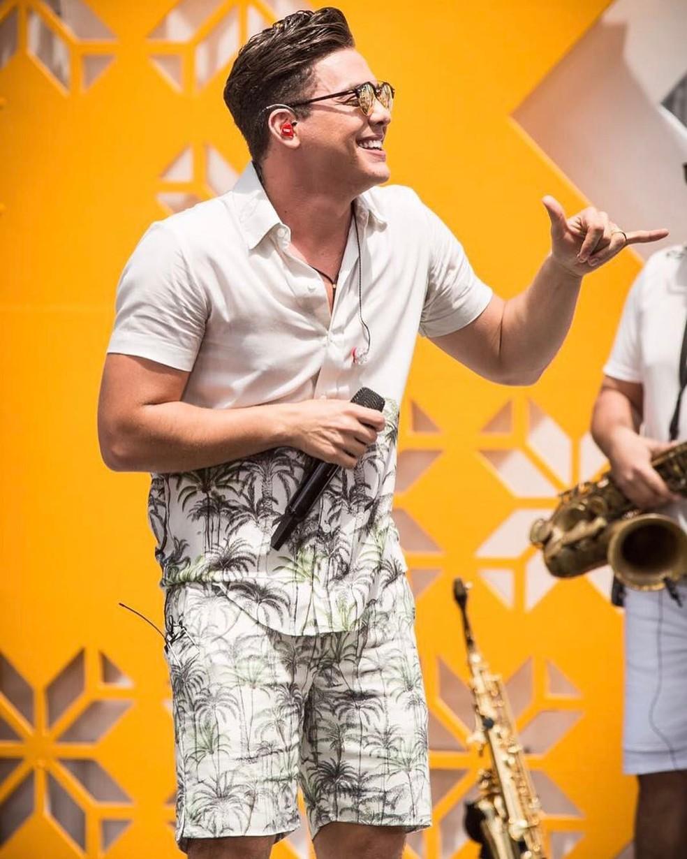 Wesley Safadão recentemente gravou DVD em Miami (Foto: Ederson Lima/Divulgação)
