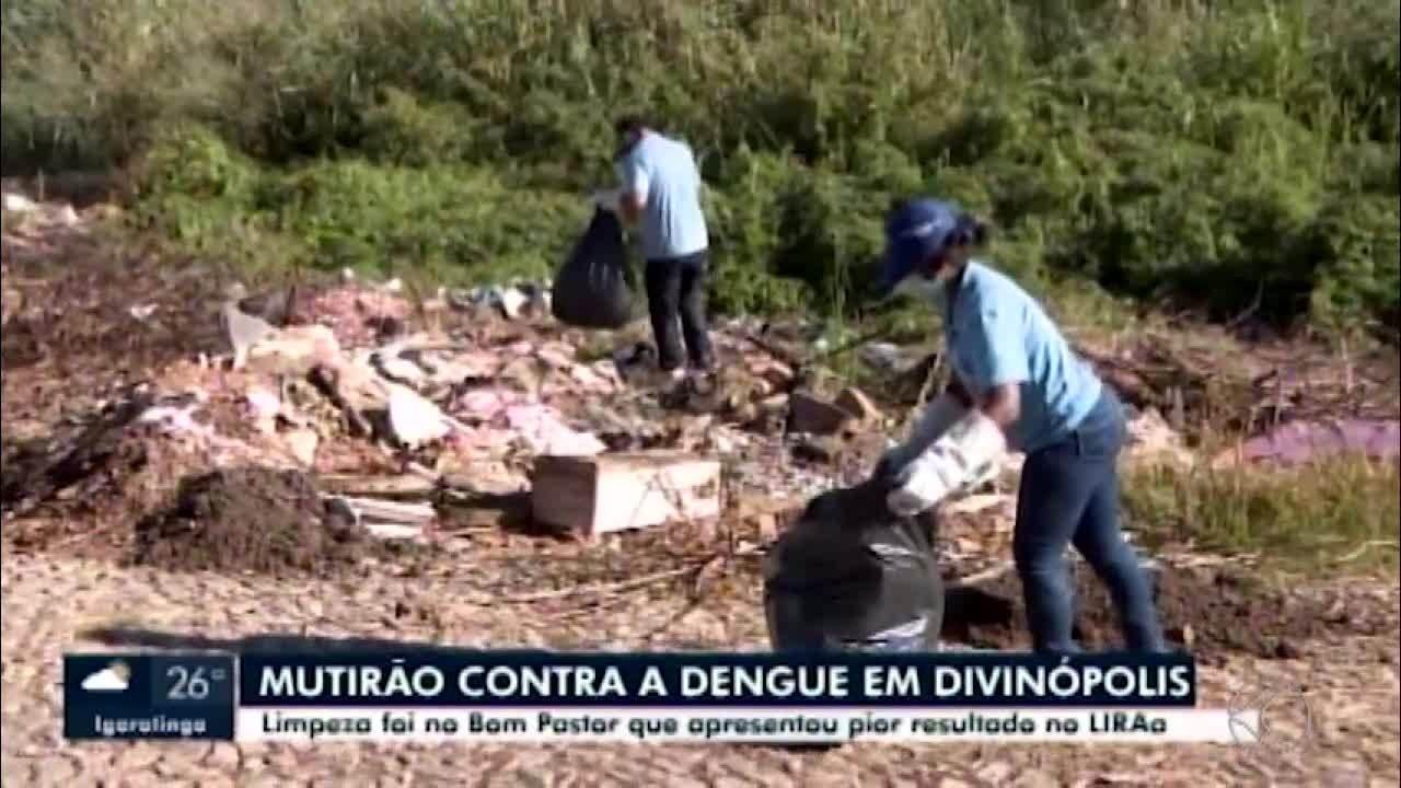 Após aumento no LIRAa, mutirão de limpeza é feito em Divinópolis contra o Aedes aegypti