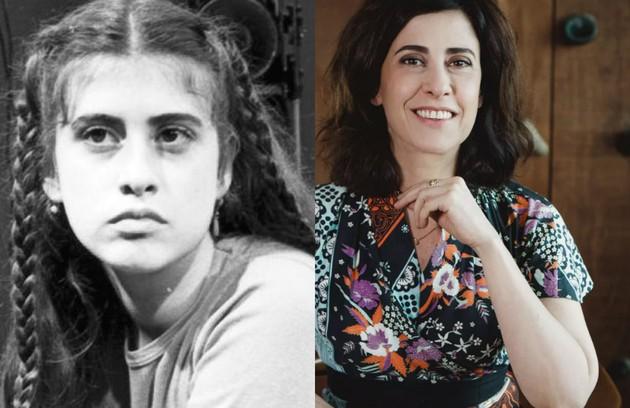 A trama de Manoel Carlos, exibida em 1981, foi a primeira novela de Fernanda Torres. Ela era Fauna Rosa, filha de Álvaro (Jonas Mello) e Rosa (Suely Franco). A atriz voltará ao ar na segunda temporada de 'Sob pressão' (Foto: TV Globo)