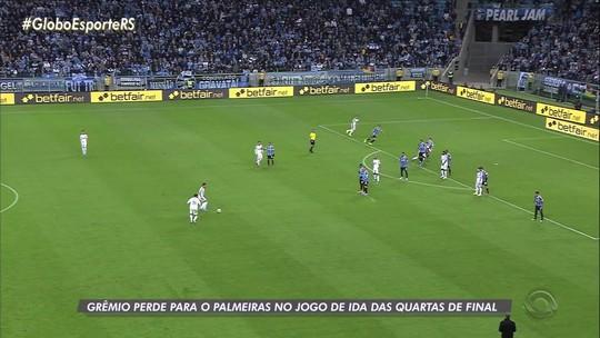 """Derrotado, Grêmio fica na bronca com suposta cera do Palmeiras: """"Mal do futebol brasileiro"""""""