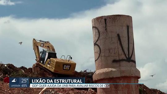 GDF quer ajuda da UnB para avaliar os riscos de contaminação no lixão da Estrutural