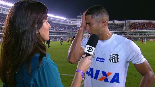 David Braz lamenta derrota para o Inter, mas pede que torcedores reconheçam esforço