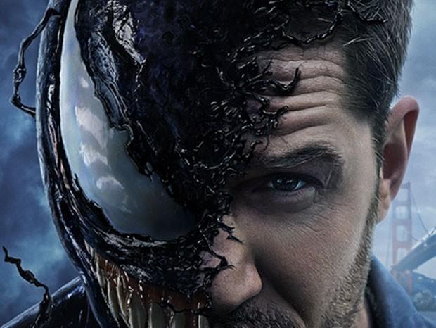 Tom Hardy como Venom (Foto: Divulgação)