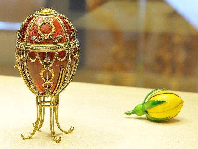 O ovo conhecido com Botão de Rosa (Foto: Divulgação)