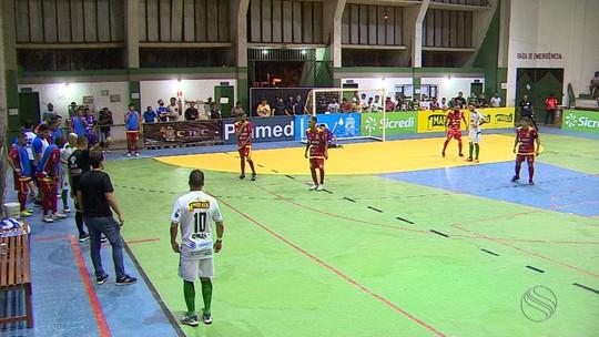 No primeiro ano como treinador, Rogério está próximo da final da Copa TV Sergipe de Futsal