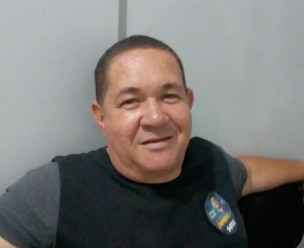 Nivaldo Gomes de Souza foi atingido por um tiro na cabeça e morreu — Foto: TVCA/Reprodução