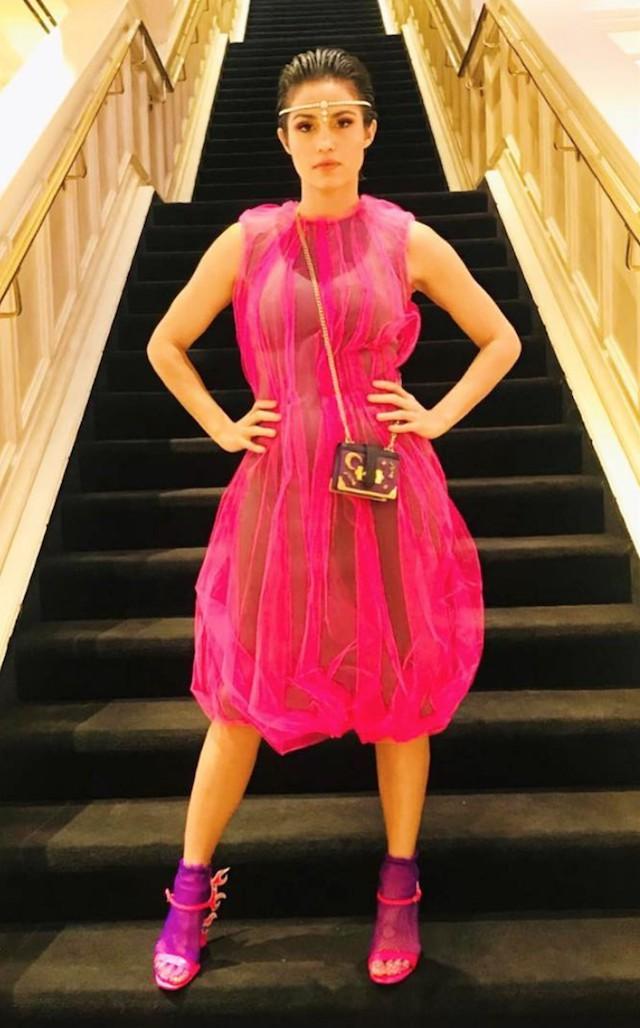 Nanda Costa no Grammy Latino 2018 (Foto: Instagram Nanda Costa/ Reprodução)