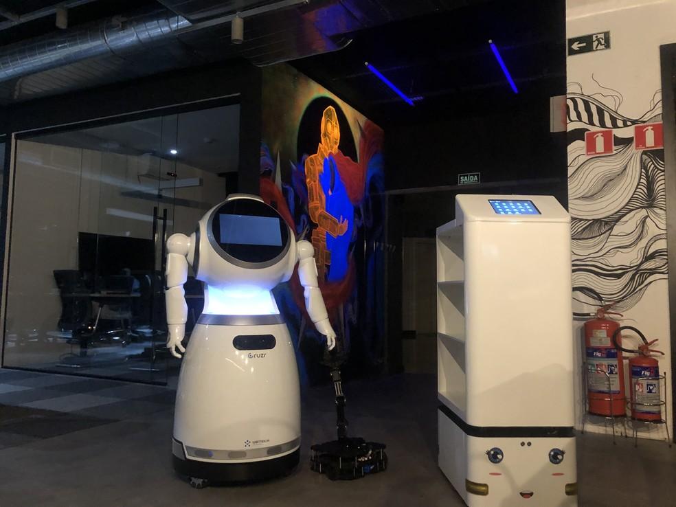 Robôs fizeram sucesso em solo chinês e já estão disponíveis no Brasil — Foto: Divulgação/Alabia