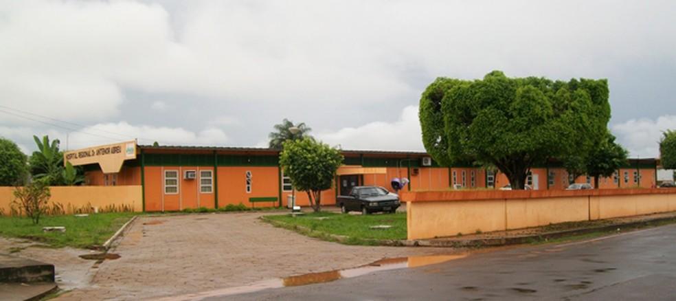 Hospital Dr. Antenor Abreu foi um dos fiscalizados pelo Coren — Foto: Divulgação/Herasmo Leite