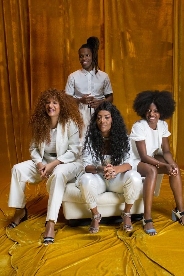 Ludmilla, Mc Soffia, Candy Mel e Rafa Mike lançam o novo hino do mês da Consciência Negra (Foto: Divulgação)