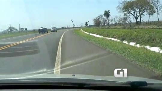 Motorista filmado bêbado em rodovia de MS diz que tomou conhaque por quase 4h e 'só acordou' na cela em MS