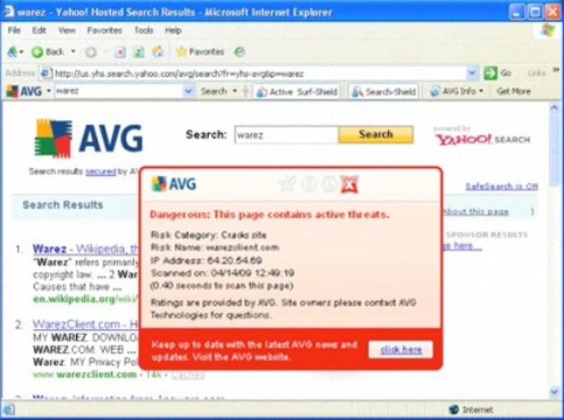 AVG LinkScanner | Download | TechTudo