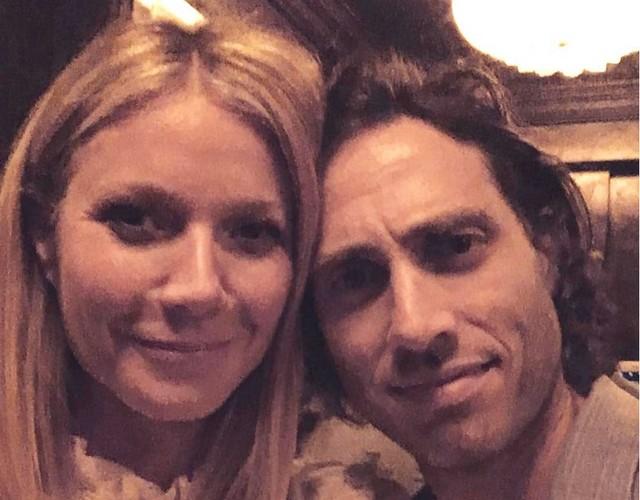 A atriz Gwyneth Paltrow e o produtor de TV Brad Falchuk (Foto: Instagram)