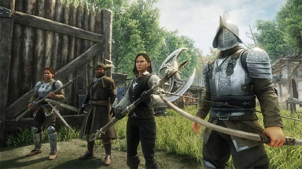 New World é um dos jogos produzidos internamente pelo estúdio de games da Amazon — Foto: Reprodução/Amazon