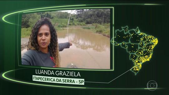 Itapecerica da Serra, S. G. do Amarante, Picos, Buriti dos Lopes, Varre-Sai e Rio Negro