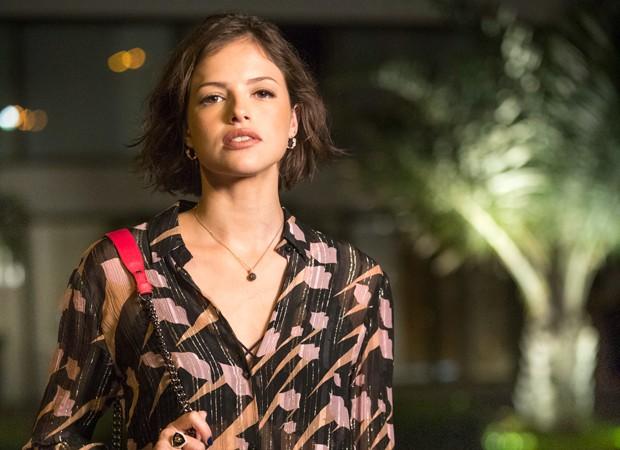 Agatha Moreira interpretará Jô, uma jovem que sonha virar influenciadora digital (Foto: João Miguel Junior/TV Globo)