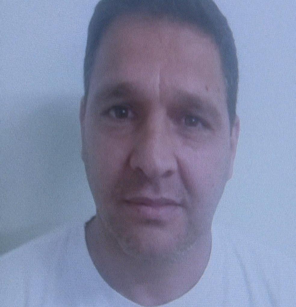 Carlos Eduardo Muniz, sargento do Corpo de Bombeiros do Distrito Federal preso por grilagem de terras (Foto: TV Globo/Reprodução)
