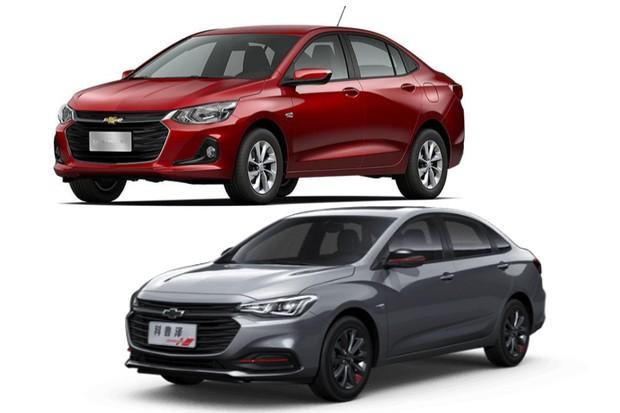 Chevrolet Monza e Onix Plus (Foto: Divulgação)