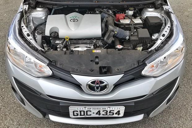 Toyota Yaris sedã XL Plus Tech 2019 (Foto: Diogo de Oliveira/Autoesporte)