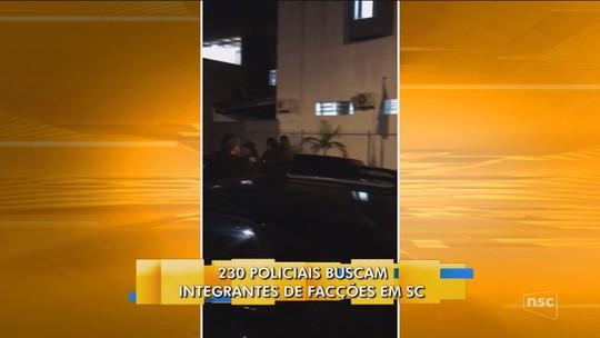 Polícia Civil faz operação contra organização criminosa em 10 cidades de SC