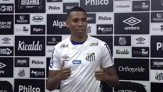 Apresentado no Santos, Madson cita diferenças para Victor Ferraz e fala de concorrência com Pará
