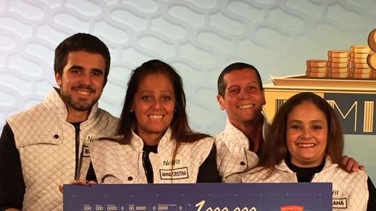 Família de Niterói vence o Familhão mais disputado da Promoção Nestlé Vida em Família faz bem