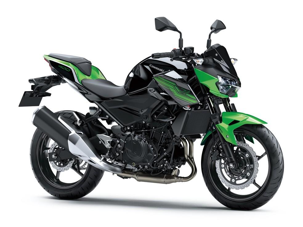 Kawasaki Z400 — Foto: Divulgação