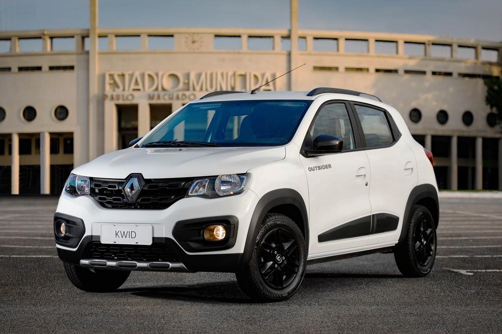 Renault Kwid Outsider — Foto: Divulgação/Renault