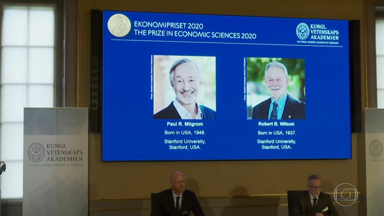 Paul Milgrom e Robert Wilson ganham Nobel de Economia 2020