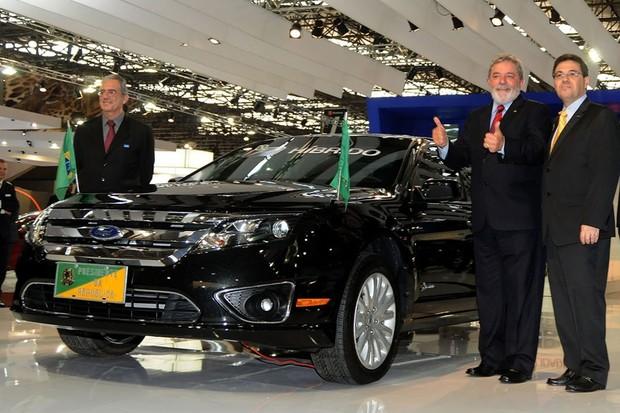 Ford Fusion Luis Inácio Lula da Silva (Foto: Divulgação)