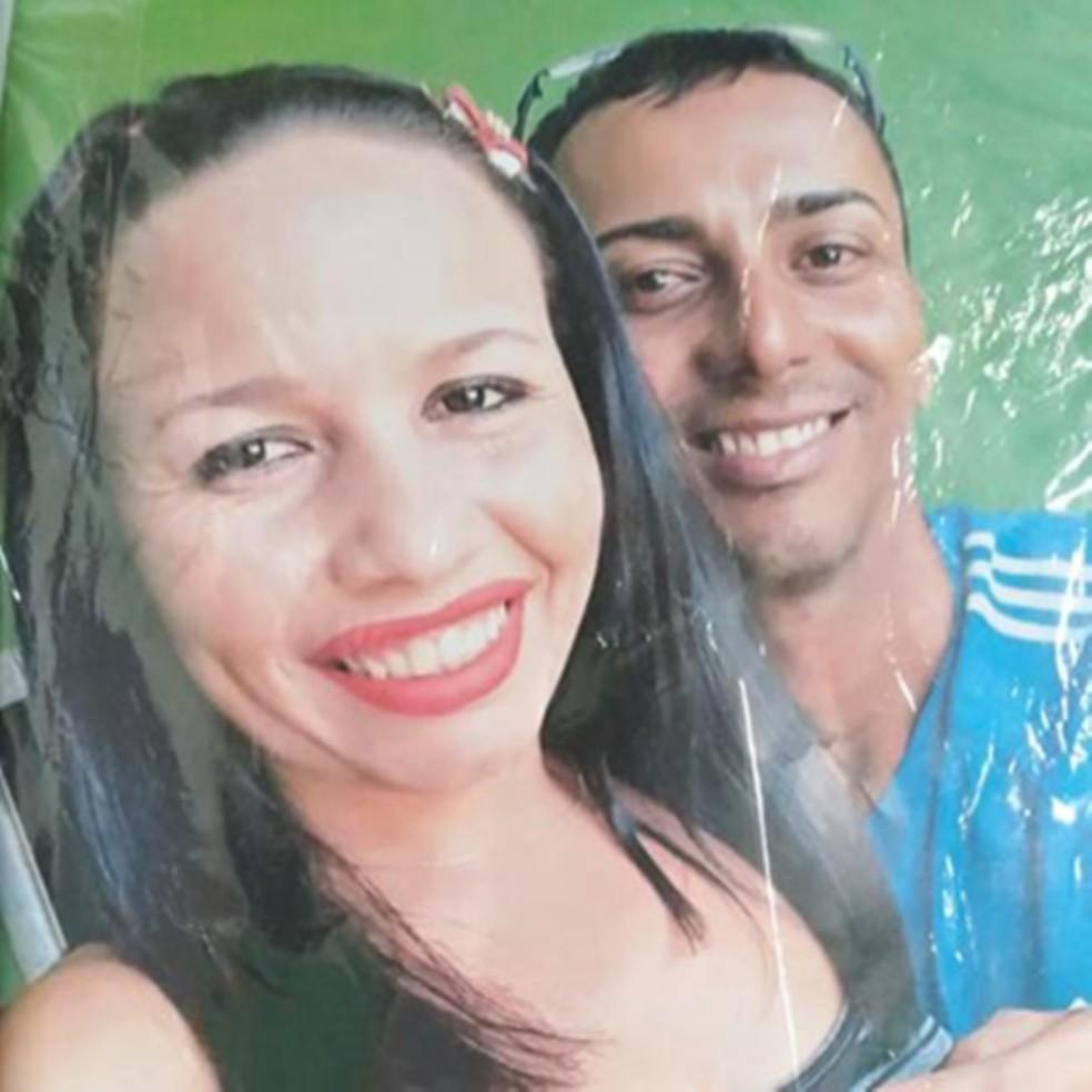 Informalmente, as vítimas foram identificadas como Wigna e Altamir — Foto: Arquivo pessoal
