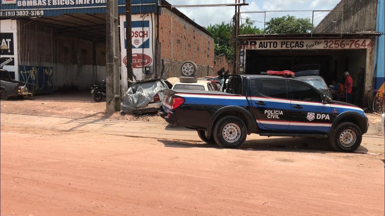 Empresário é preso por comércio ilegal de carros e autopeças em Marituba, no Pará - Notícias - Plantão Diário