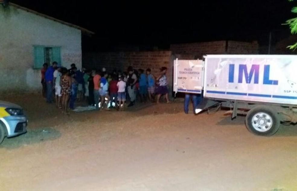 Jovem assassinado a tiros em Araguaína (Foto: Af Notícias/Divulgação)