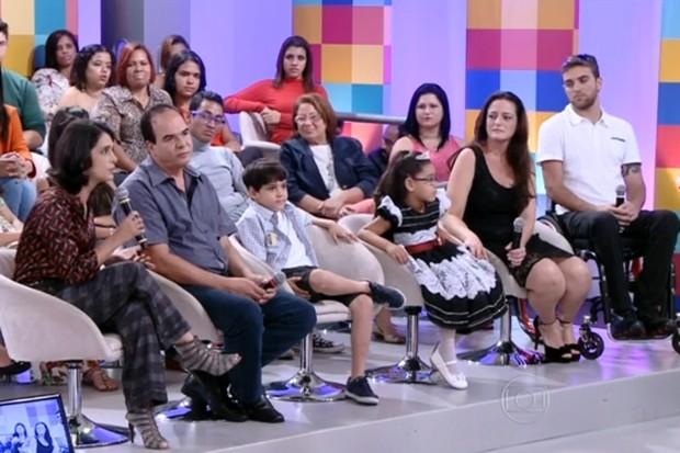 Alexandre Raizer Landim Silva, de Goiânia, durante programa Encontro - escritor de livros (Foto: Reprodução/TV Globo)