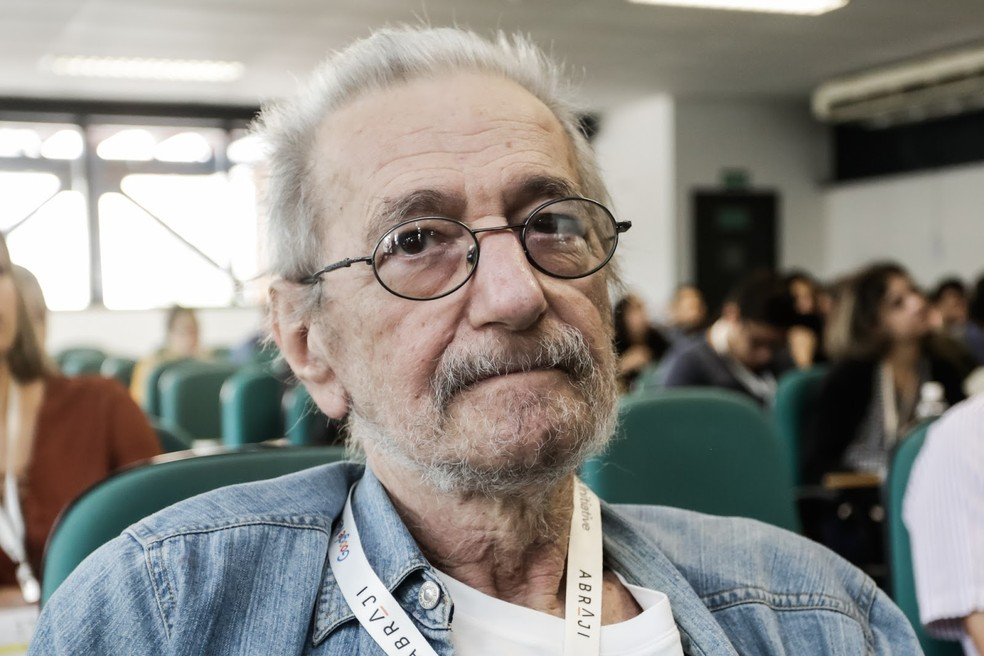 9ca4cda7b ... Claudio Weber Abramo, no Congresso da Abraji, em junho — Foto: Alice  Vergueiro
