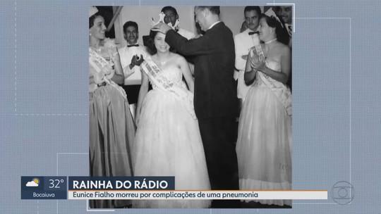 Morre Eunice Fialho, a rainha do rádio mineiro