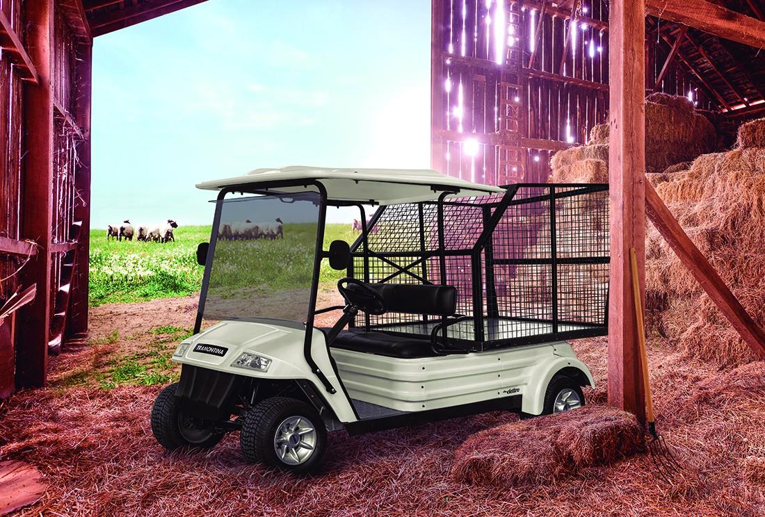Utilitários elétricos da Tramontina levam a mobilidade sustentável ao campo (Foto: Divulgação)