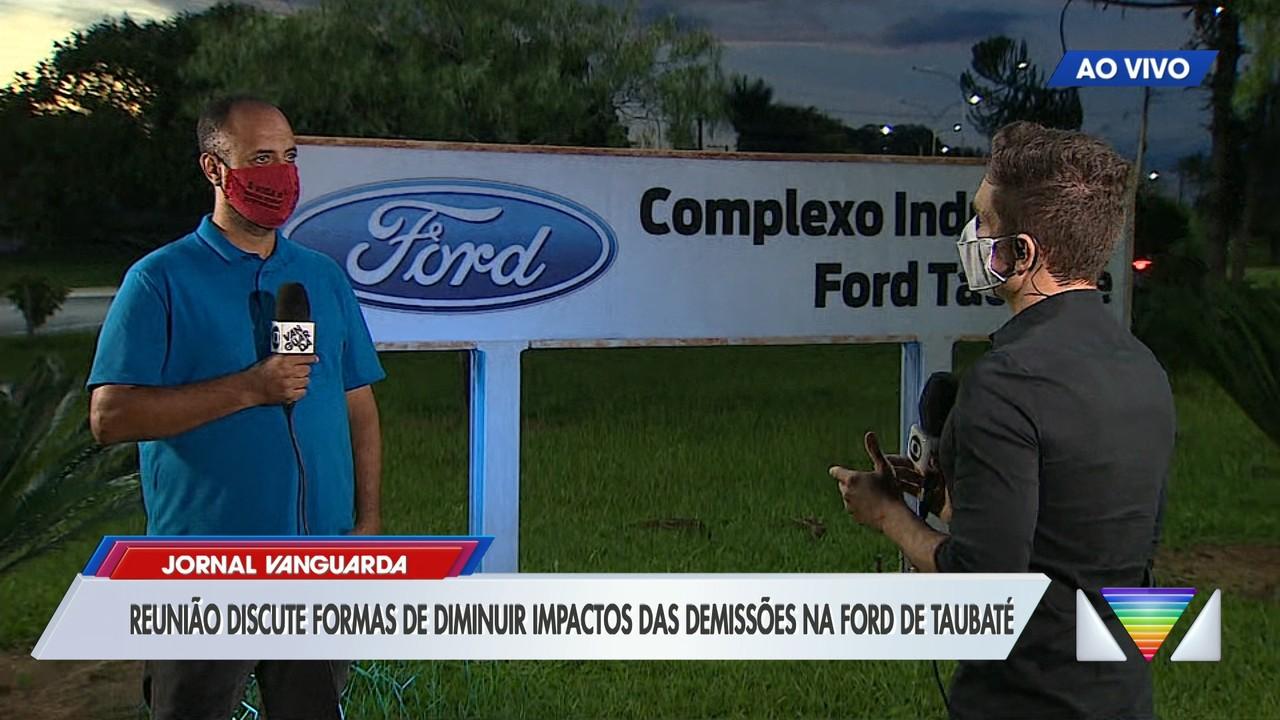 Governos e sindicato se reúnem para discutir futuro dos trabalhadores da Ford em Taubaté