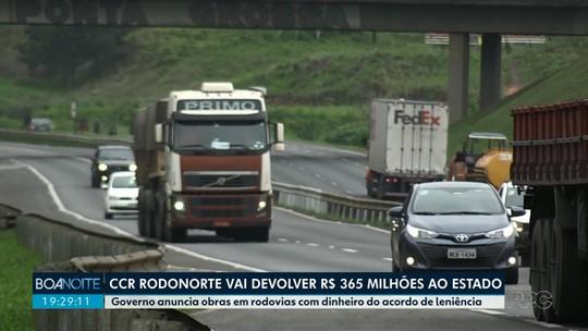 Governo anuncia obras em rodovias com dinheiro do acordo de leniência
