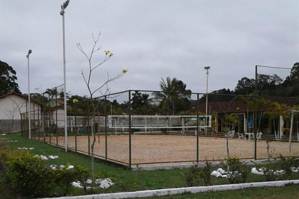 Espaço é a sede do núcleo da Chapecoense em Juiz de Fora (Foto: Paulo Manoel da Silva )