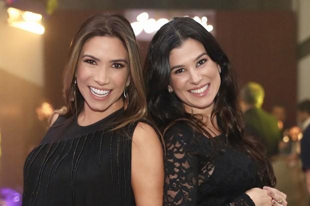 Patrícia e Renata Abravanel (Foto: Manuela Scarpa/Brazil News)