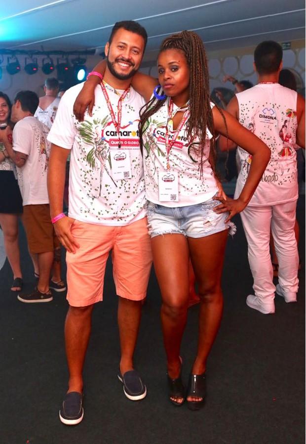 Roberta Rodrigues e Guilherme Guimarães (Foto: Daniel Janssens/Ed. Globo)