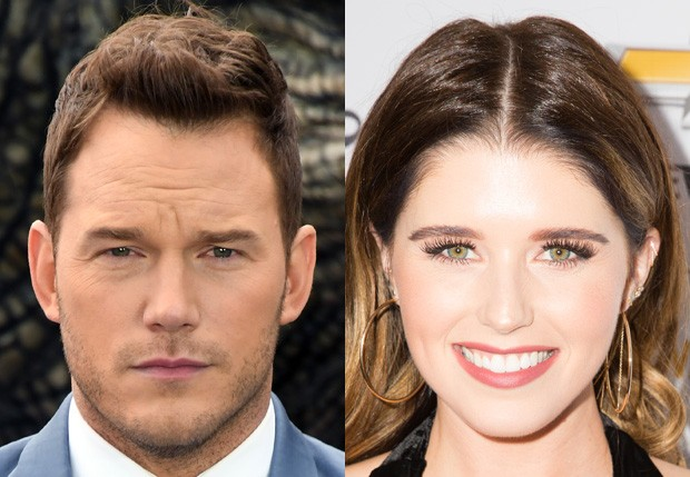 Chris Pratt e Katherine Schwarzenegger (Foto: Getty Images)