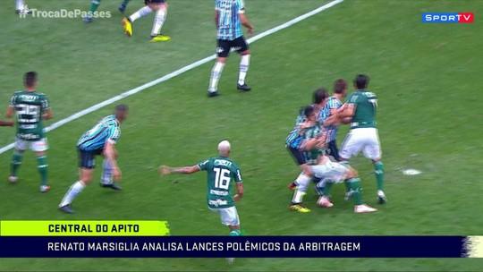 Marsiglia critica árbitro que marcou falta de ataque em lance em que houve dois pênaltis
